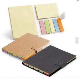 Caderno com Bloco Adesivado