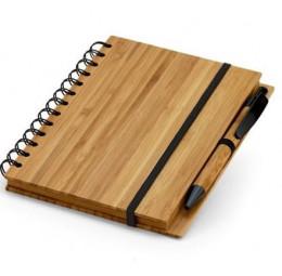 Caderno em Bambu