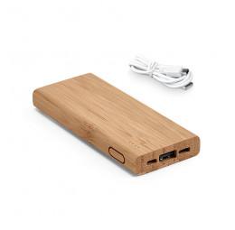Bateria Portátil em Bambu