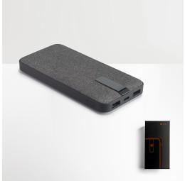 Bateria Portátil Forrada com Tecido