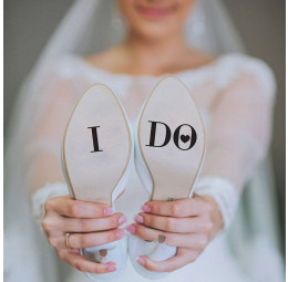 Adesivo para Sola de Sapato - I Do