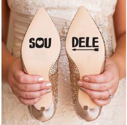 Adesivo para Sola de Sapato - Sou Dele