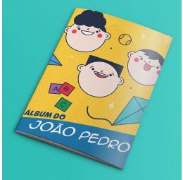 Álbum de Figurinhas Dia das Crianças - Modelo Carinhas
