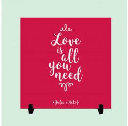 Azulejo Personalizado - Love