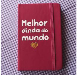Caderno Batizado Melhor Dinda do Mundo