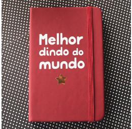 Caderno Batizado Melhor Dindo do Mundo