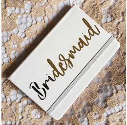 Caderno Bridesmaid