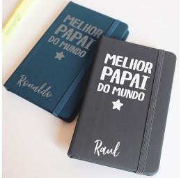Caderno Personalizado - Melhor Pai do Mundo
