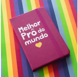 Caderno Personalizado - Dia dos Professores - Melhor Prô do Mundo