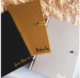 Caderno capa dura - Swarovski