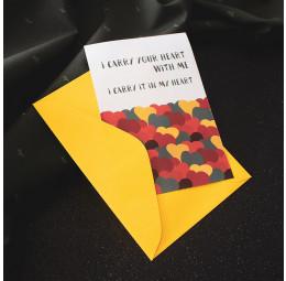 Cartão Carry Yout Heart