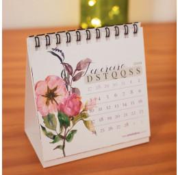 Calendário Save the Date - Flores