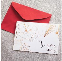 Cartão Te amo, Mãe