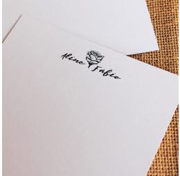 Cartão Social - Rosa