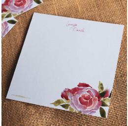 Cartão Social - Rosas no Campo