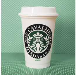 Copo Starbucks Cavalheiro