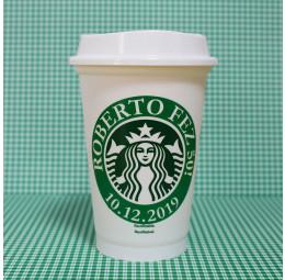 Copo Starbucks Aniversário 50 anos