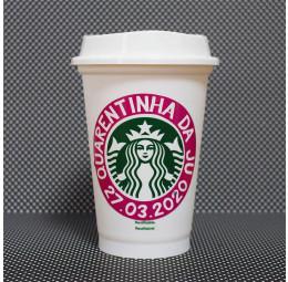Copo Starbucks Aniversário 40 anos