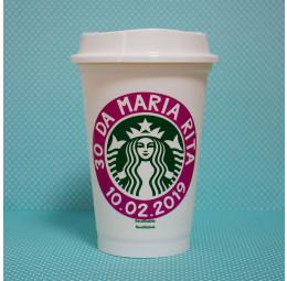 Copo Starbucks Aniversário 30 anos