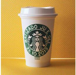 Copo Starbucks Batizado