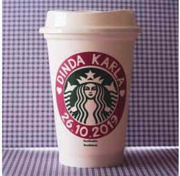 Copo Starbucks Dinda