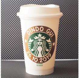 Copo Starbucks Dindo