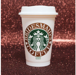 Copo Starbucks Bridesmaid's Coffee