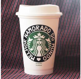 Copo Starbucks Melhor Namorado