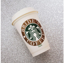 Copo Starbucks Bride's Coffee