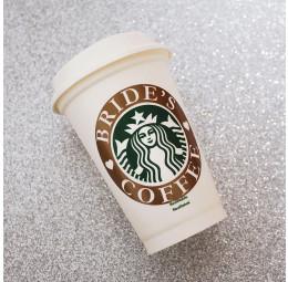 Copo Starbucks Bride's Coffee