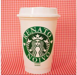Copo Starbucks Nome do Noivo