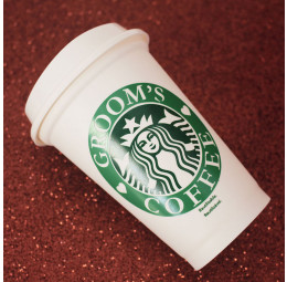 Copo Starbucks Groom's Coffee