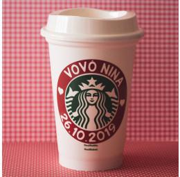 Copo Starbucks Vó