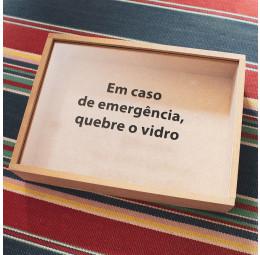Caixa de Memórias - Texto Personalizado