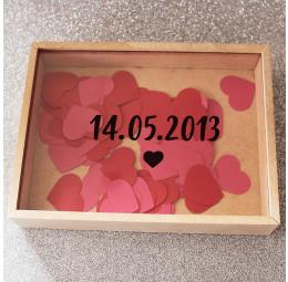 Caixa de Memórias Casal - Data