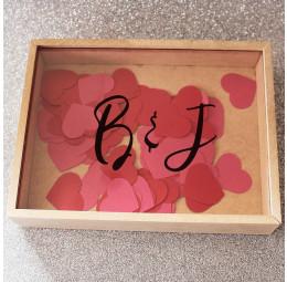Caixa de Memórias Casal - Manuscrito