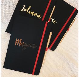 Kit Caderno e Caneta Elegance