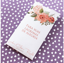 Lágrimas de Alegria - Envelope - Campestre