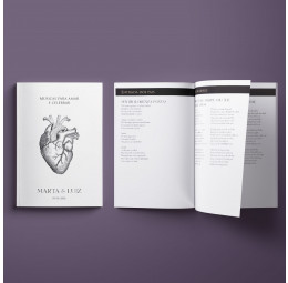 Livreto de Músicas Heart