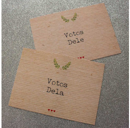 Porta Votos Datilografia