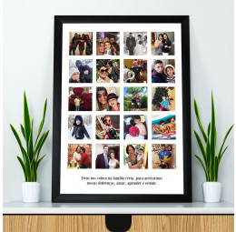 Quadro Fotos - 40 x 55 cm