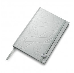 Caderno capa dura cisne - Swarovski
